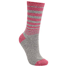 Buy John Lewis Wool and Silk Gradient Stripe Ankle Socks Online at johnlewis.com