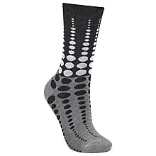 Buy John Lewis Viscose Graduating Spot Ankle Socks Online at johnlewis.com