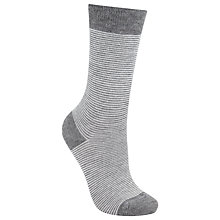 Buy John Lewis Viscose Feeder Stripe Ankle Socks Online at johnlewis.com
