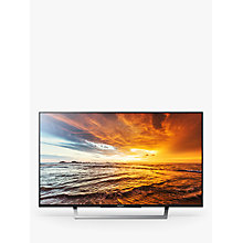"Buy Sony Bravia 32WD756BU LED HD 1080p Smart TV, 32"" with Freeview HD & Cable Management System +  HT-NT5 Sound Bar & Subwoofer Online at johnlewis.com"