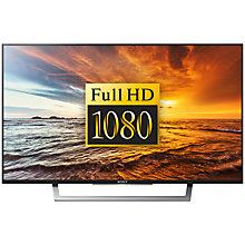 "Buy Sony Bravia 49WD756BU LED HD 1080p Smart TV, 49"" with Freeview HD & Cable Management System +  HT-CT390 Sound Bar & Subwoofer Online at johnlewis.com"