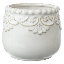 Buy John Lewis Maison Floral Edge Tea Light Holder Online at johnlewis.com