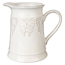 Buy John Lewis Country Ceramic Butterfly Jug Online at johnlewis.com