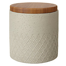 Buy John Lewis Fusion Embossed Fretwork Patterned Pot Online at johnlewis.com