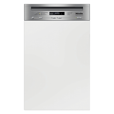 Miele G4720 SCi Semi Integrated Dishwasher Clean Steel