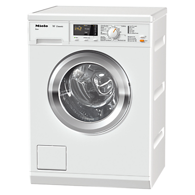 Miele WDA101 Washing Machine, 7kg Load. A+++ Energy Rating, 1400rpm Spin, White