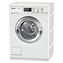 Buy Miele WDA101 Washing Machine, 7kg Load. A+++ Energy Rating, 1400rpm Spin, White Online at johnlewis.com