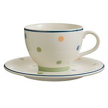 Buy John Lewis Hazlemere Teacup & Saucer Set Online at johnlewis.com