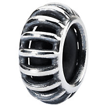 Buy Trollbeads Sterling Silver Sunbeam Spacer Charm, Silver Online at johnlewis.com