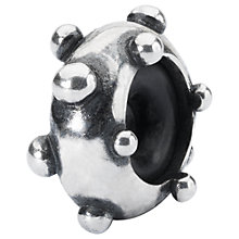 Buy Trollbeads Sterling Silver Dot'n'Dot Spacer Charm, Silver Online at johnlewis.com