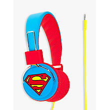 Buy Kondor Superman Man Of Steel On-Ear Headphones Online at johnlewis.com