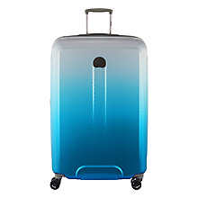 Buy Delsey Helium Air II 70th Anniversary 4-Wheel 76cm Suitcase, Blue Online at johnlewis.com