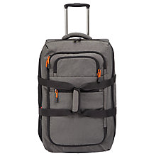 Buy John Lewis Trail 63cm Wheeled Duffel, Charcoal Online at johnlewis.com