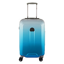 Buy Delsey Helium Air II 70th Anniversary 4-Wheel 55cm Cabin Case, Blue Online at johnlewis.com