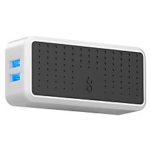 Buy BlueFlame The Quad 4-Device USB Wall Charger, White Online at johnlewis.com