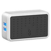 Buy BlueFlame The Dual 2-Device USB Wall Charger, White Online at johnlewis.com
