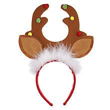 Buy John Lewis Antlers Headband Online at johnlewis.com
