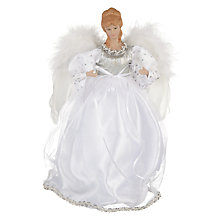 Buy John Lewis Elsa Angel Tree Topper, Silver Online at johnlewis.com