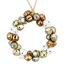 Buy John Lewis Helsinki Bell Wreath Bauble Online at johnlewis.com