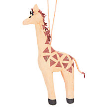 Buy John Lewis Grand Tour Giraffe Tree Decoration Online at johnlewis.com