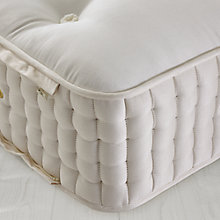 Buy John Lewis Natural Collection Cashmere 18000 Pocket Spring Zip Link Mattress, Super King Size Online at johnlewis.com
