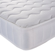 Buy John Lewis Open Spring Memory Foam Mattress, Double Online at johnlewis.com