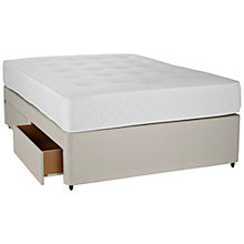 Buy John Lewis 1000 Pocket Spring Memory Foam Divan Base and Mattress Set, King Size Online at johnlewis.com