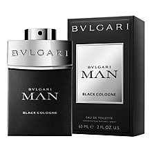 Buy Bulgari Man Black Cologne Eau de Toilette Online at johnlewis.com
