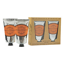 Buy Naturally European Neroli & Tangerine Luxury Hand & Foot Cream Set, 2 x 75ml Online at johnlewis.com