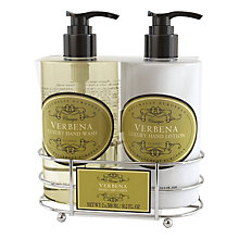Buy Naturally European Verbena Luxury Hand Care Caddy, 2 x 300ml Online at johnlewis.com
