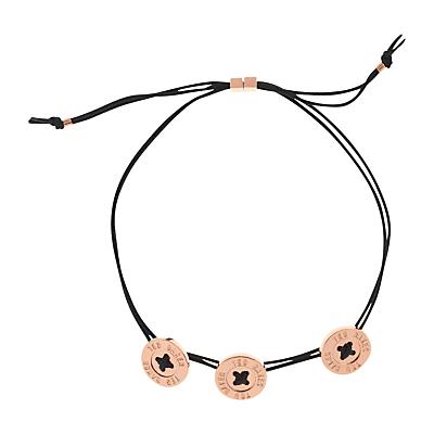 Ted Baker Taegen Button Cord Bracelet