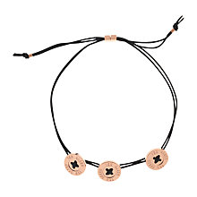 Buy Ted Baker Taegen Button Cord Bracelet Online at johnlewis.com