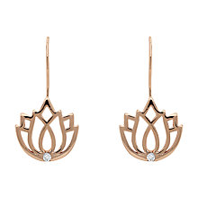 Buy Melissa Odabash Lotus Hook Drop Earrings Online at johnlewis.com
