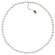 Buy Finesse Glass Pearl Necklace Online at johnlewis.com