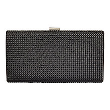 Buy Jacques Vert Embellished Clutch Bag, Black Online at johnlewis.com