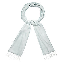 Buy Phase Eight Diamond Weave Pashmina Scarf, Mint Online at johnlewis.com