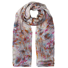 Buy Jigsaw x ALR Digital Rain Print Scarf, Multi Online at johnlewis.com