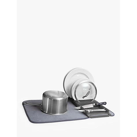 Buy Umbra U Dry Dish Drainer And Mat John Lewis