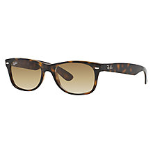 Buy Ray-Ban RB2132 New Wayfarer Sunglasses, Tortoise Online at johnlewis.com
