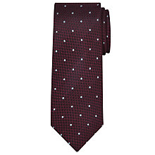 Buy Chester by Chester Barrie Textured Spot Silk Tie Online at johnlewis.com