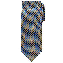 Buy Chester by Chester Barrie Chevron Zigzag Silk Tie Online at johnlewis.com