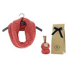 Buy Stitch & Story Mateusz Snood Knitting Kit Online at johnlewis.com