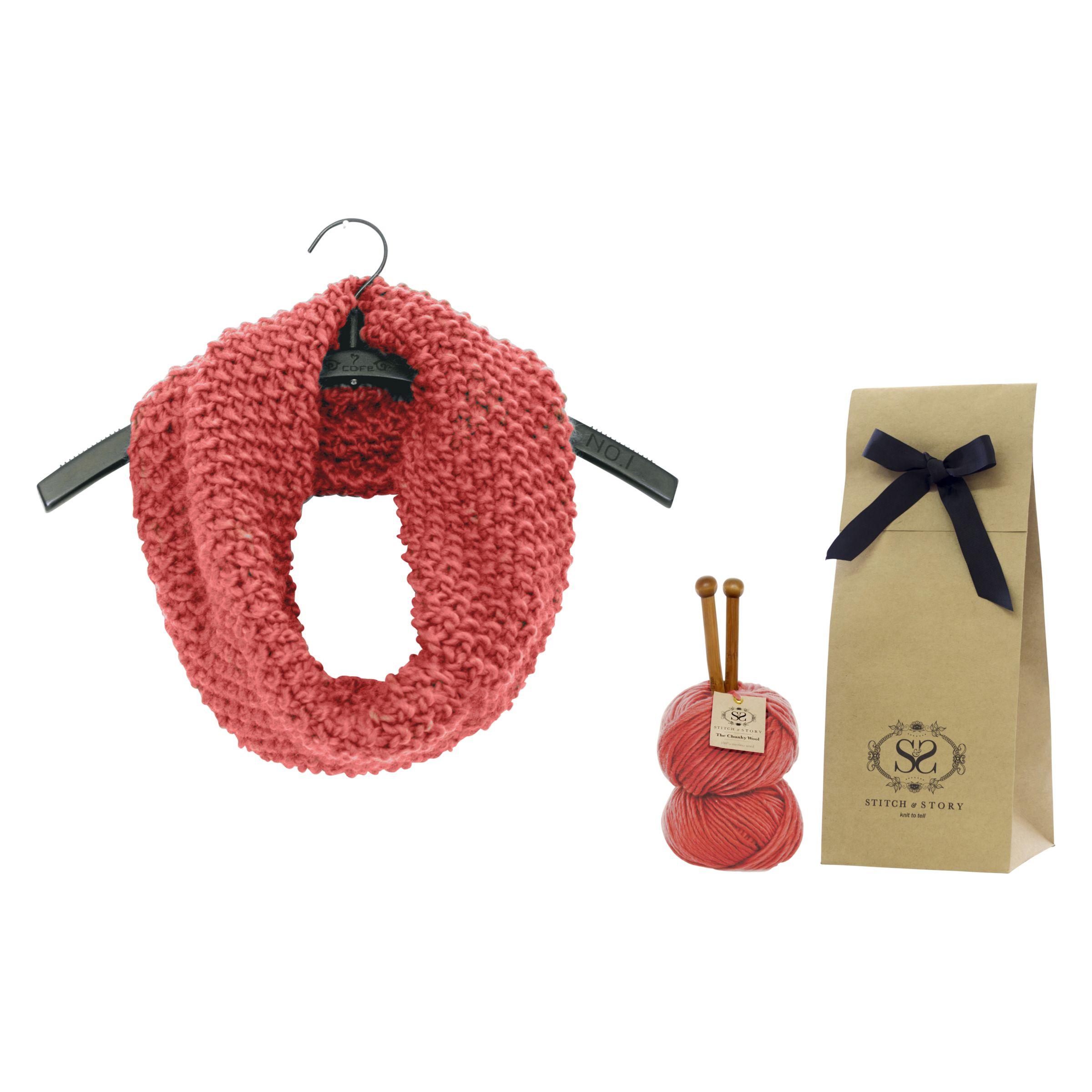 Buy Stitch & Story Mateusz Snood Knitting Kit John Lewis