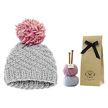Buy Stitch & Story Luca Pom Pom Hat Kit Online at johnlewis.com