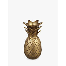 Buy John Lewis Brass Pineapple Candle Holder Online at johnlewis.com