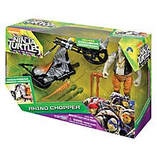 Buy Teenage Mutant Ninja Turtles Rhino Chopper Online at johnlewis.com