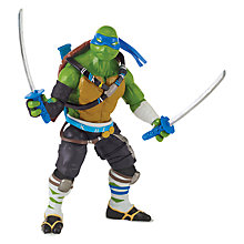 Buy Teenage Mutant Ninja Turtles 2: Out of the Shadows Leo Action Figure Online at johnlewis.com