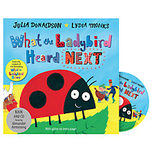 Buy What The Ladybird Heard Next Children's Book & CD Online at johnlewis.com