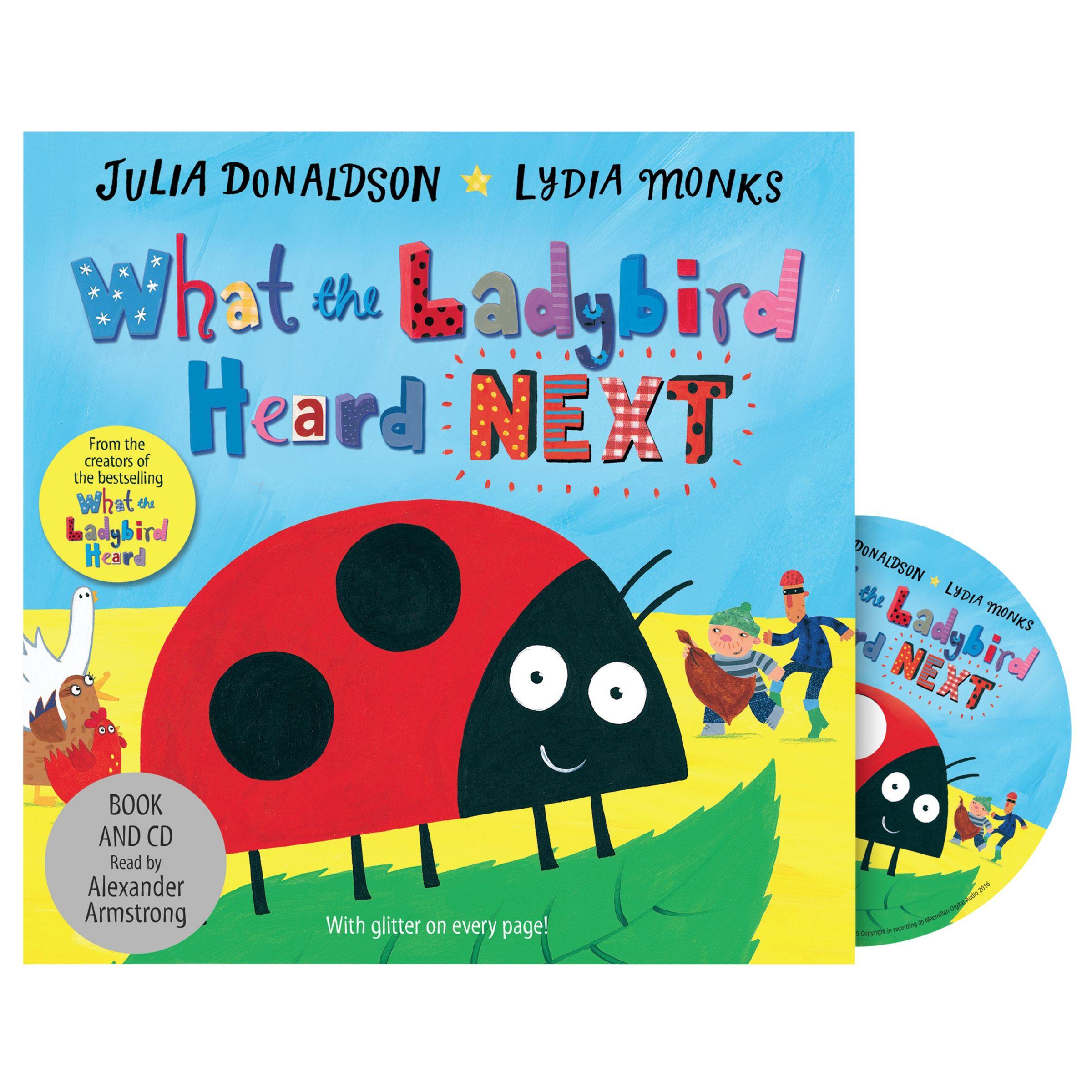Macmillan What The Ladybird Heard Next Children's Book & CD