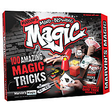 Buy Marvin's Magic 100 Amazing Magic Tricks Set Online at johnlewis.com
